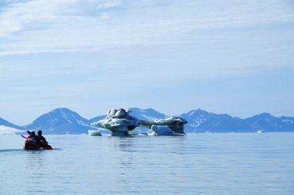 Les glaciers de l'Isfjord