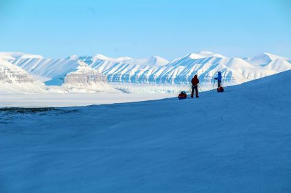 Templefjord à ski, entre glaciers et banquise