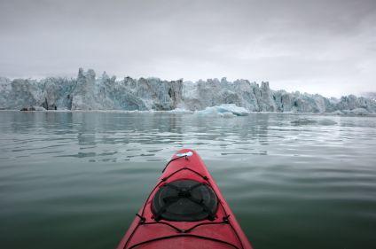 Fjords et glaciers en kayak au Spitzberg