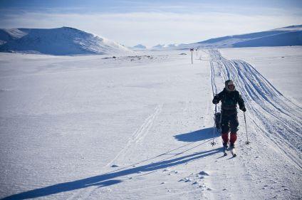La piste royale à ski