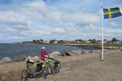 De Stockholm à Copenhague à vélo par la côte ouest