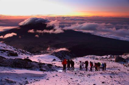 Au sommet du Kilimandjaro (5895m)