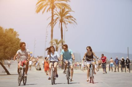 Un week-end à Barcelone à vélo