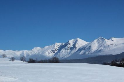 Massif du Sancy, versant sud