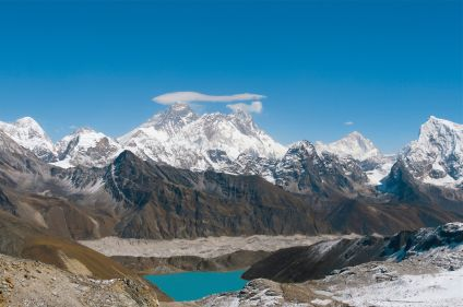 Camp de base de l'Everest par les hauts cols