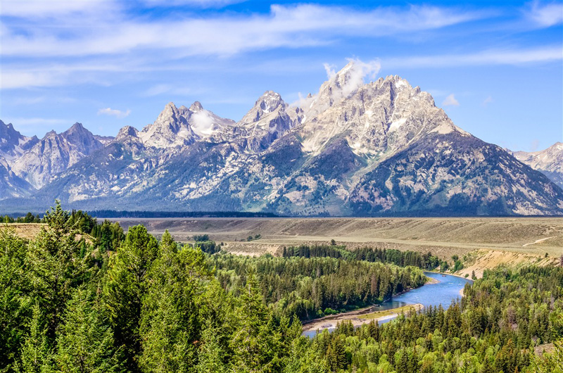 © Parc national Grand Teton - Jackson - Wyoming - Etats-Unis - Martin M303/fotolia.com