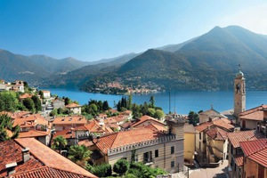 Village sur le Lac de Come - Italie © Andreas Strauss/Look/Photononstop