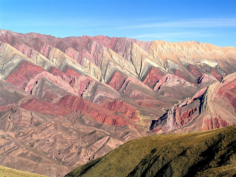 © Serranias del Hornocal - Jujuy - Nord-ouest argentin - Argentine -  Denis Chambon