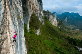 Petzl Roc Trip China