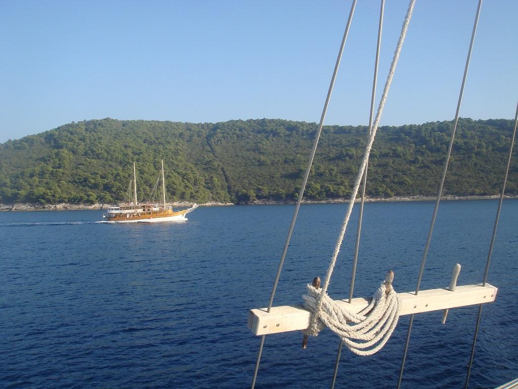 Navigation sur l'Adriatique