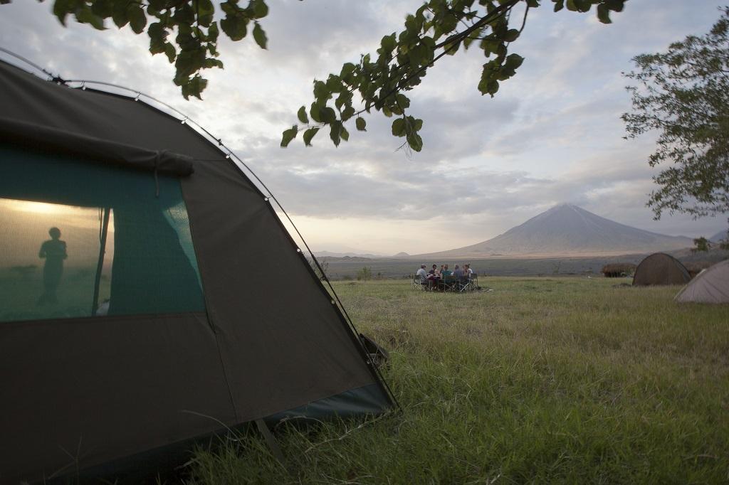 Bivouac en Tanzanie
