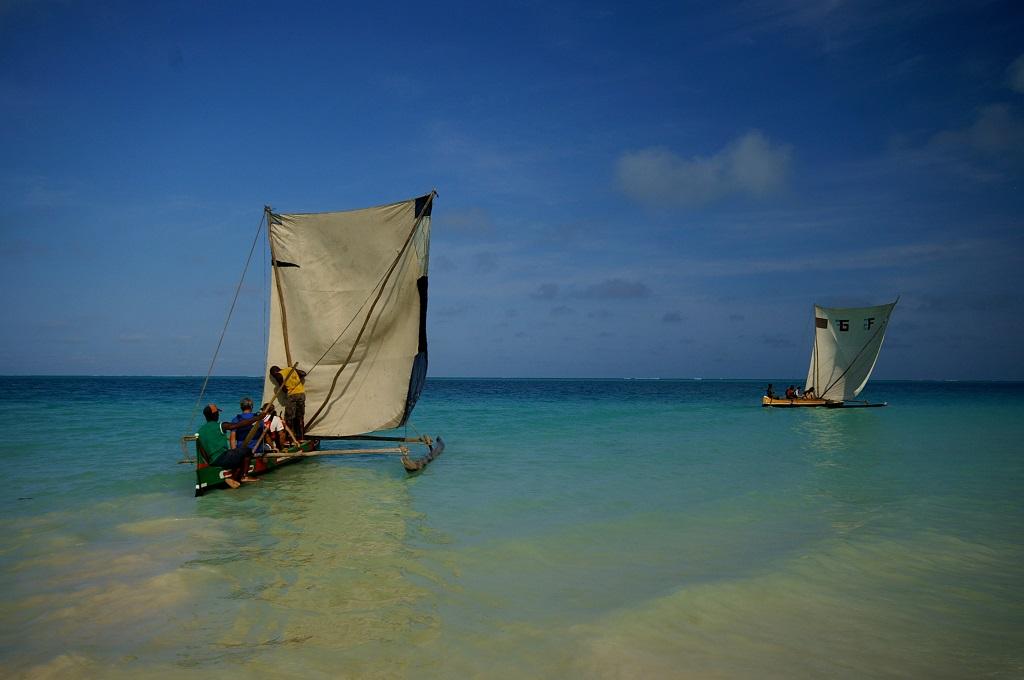 Pirogues à voile Vezos - Madagascar
