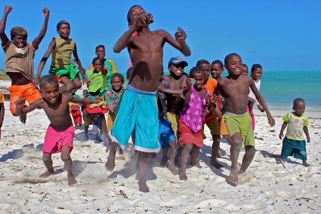 Enfants Vézos - Madagascar