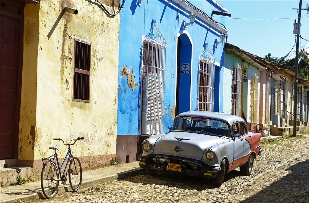 Dans les rues de Trinidad, Cuba
