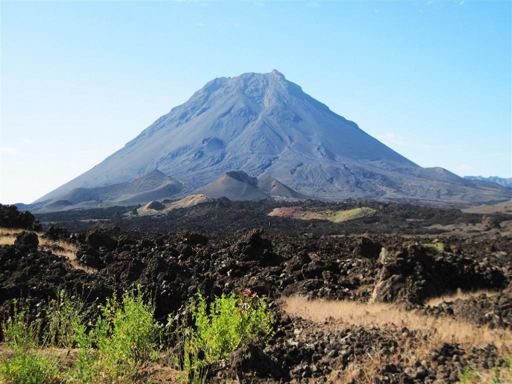 Le Pico do Fogo, sur l'île de Fogo - ©Joelle Pineau