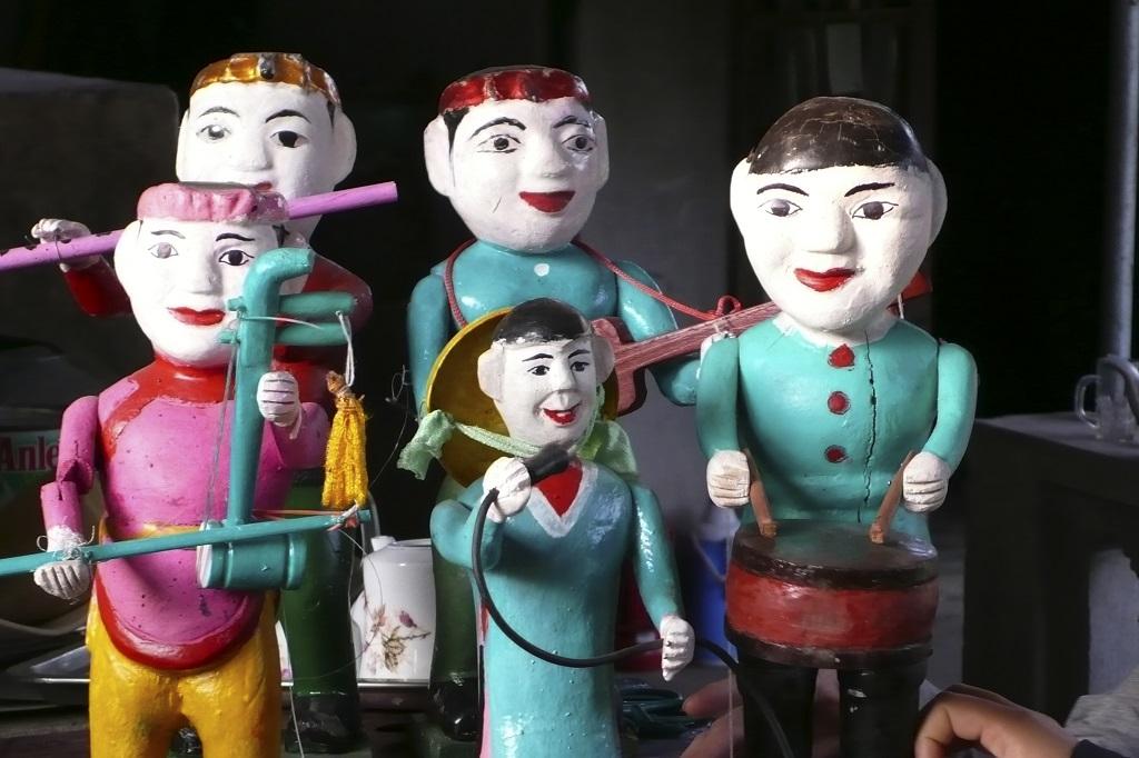 Marionnettes sur l'eau - Hanoi - Vietnam
