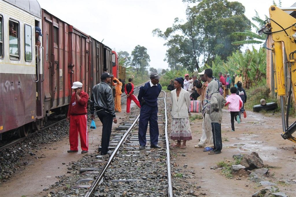 Voyage en train sur la côte Est de Madagascar