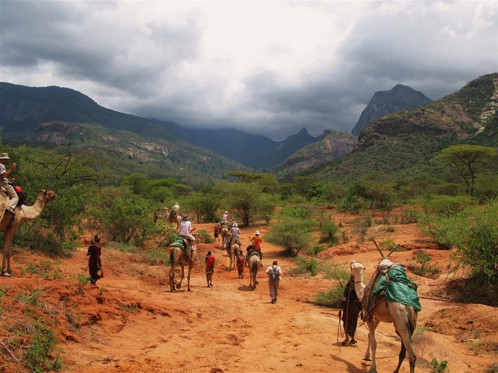 Randonnée en pays Rendille - Kenya