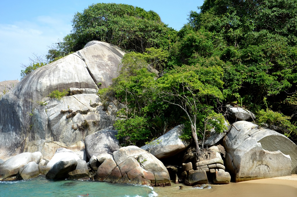 Plage du Parc national naturel de Tayrona