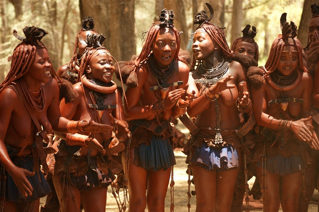 Les Himbas - Namibie