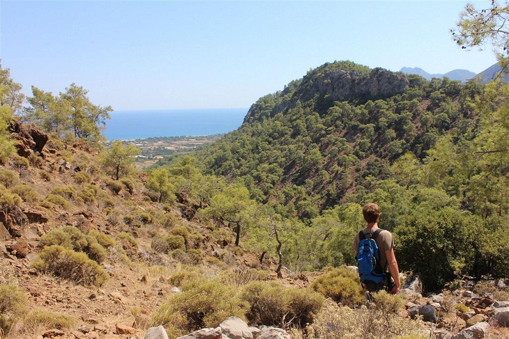 Randonnée sur la côte lycienne, Turquie