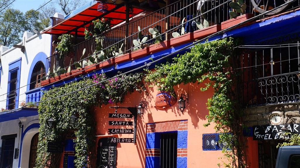 Quartier de Coyoacan à Mexico