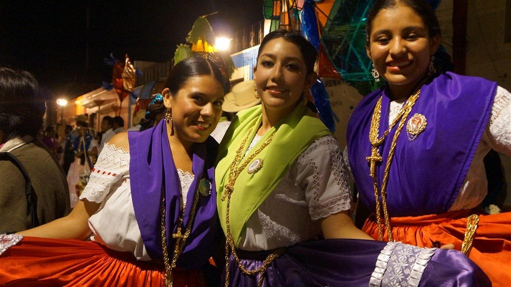Dans les rues d'Oaxaca