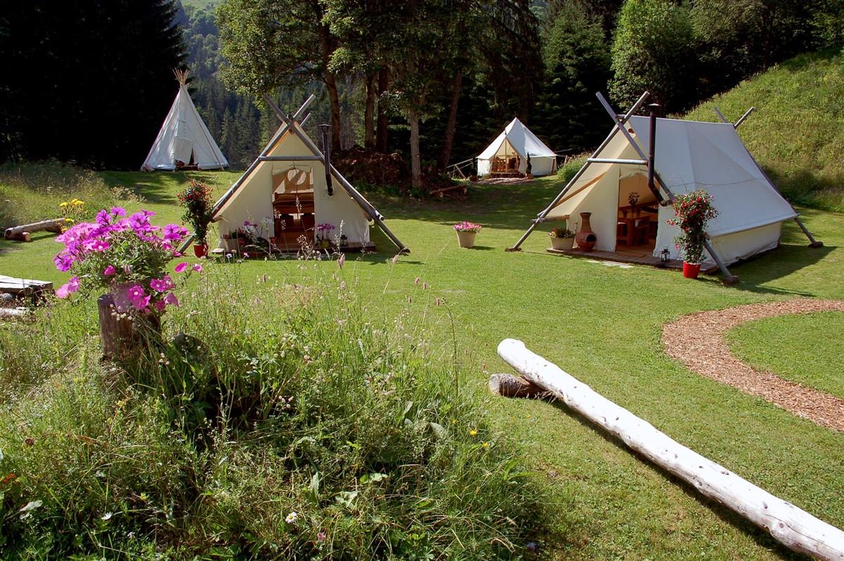 Faire le plein d'activités en plein air, Camp Bargy