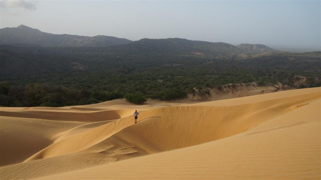 Dunes dans le désert de la Guajira