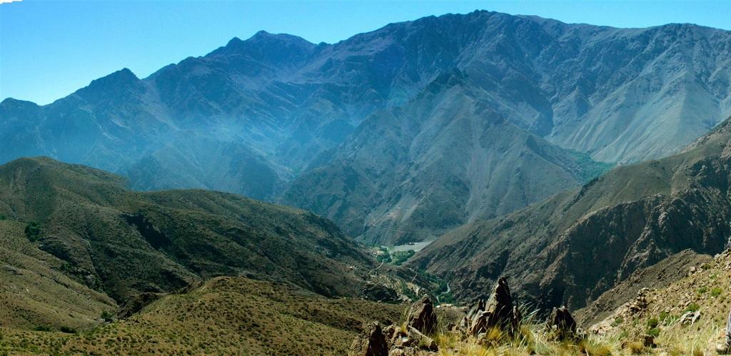 Col du djebel Meltsen à 2700m - Maroc