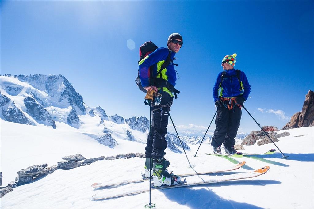 Ski de randonnée près de Chamonix