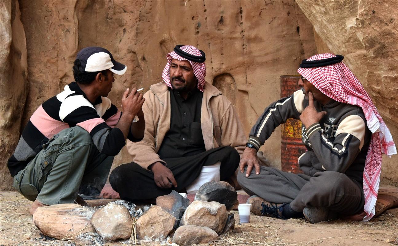 Rencontres dans le wadi Rum
