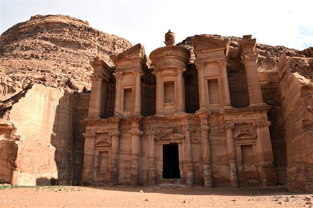 La Khazneh - Pétra, Jordanie
