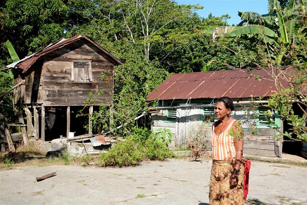Village - Randonnée vers Cachote - Sierra de Bahoruco, République Dominicaine