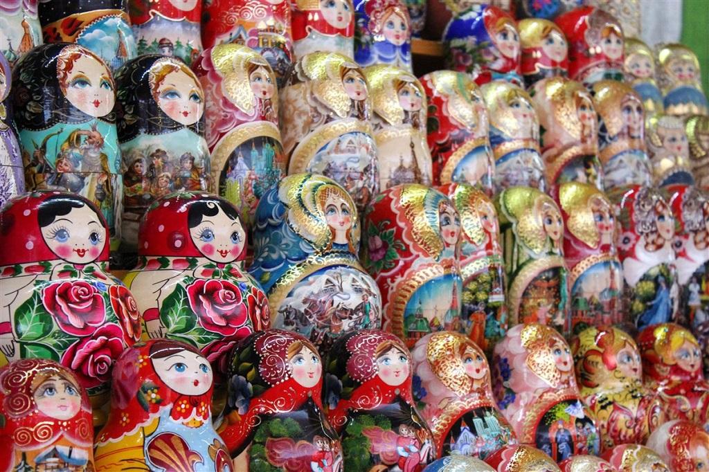 Poupées russes, Moscou - ©Justine Jean-Louis