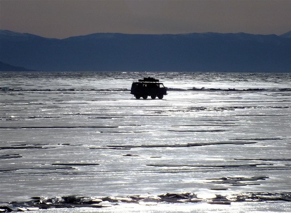 Trajet en 4x4 - Baïkal - Sibérie, Russie