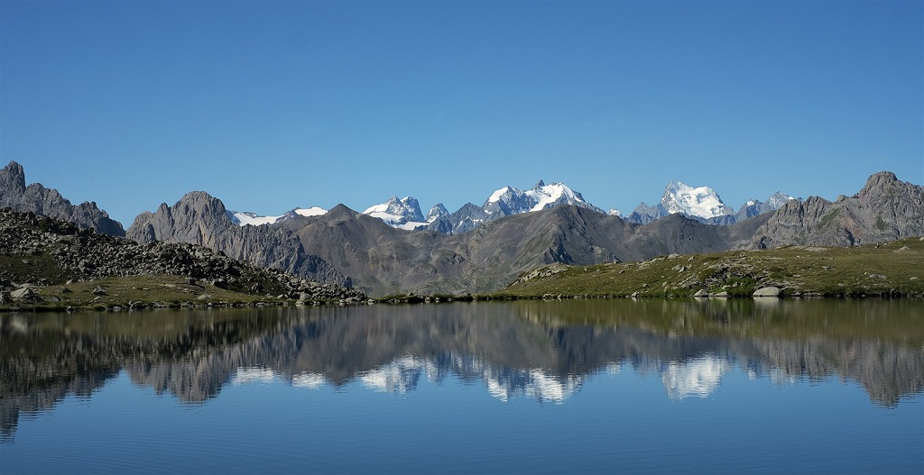Lac du serpent - Vallée de la Clarée - Alpes du Sud - France
