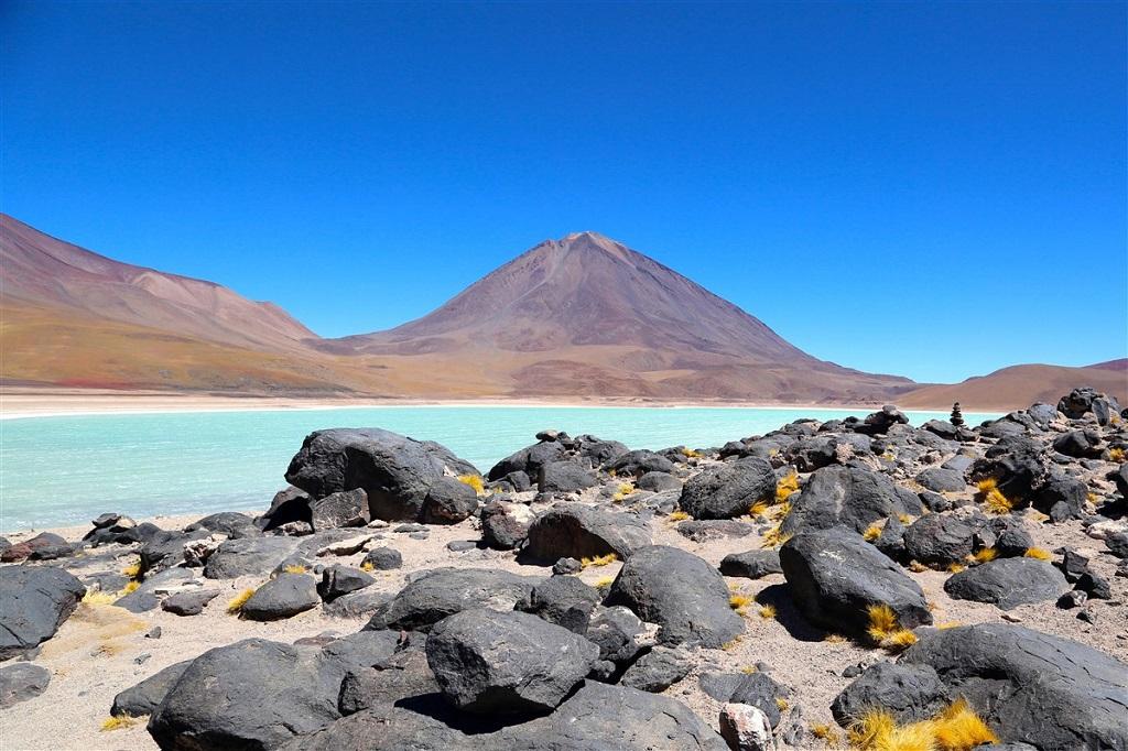 Laguna Verde et Licancabur, Sud Lipez