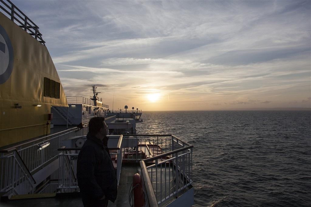 Sur le ferry entre Dieppe et Newhaven - ©Valentin Chemineau