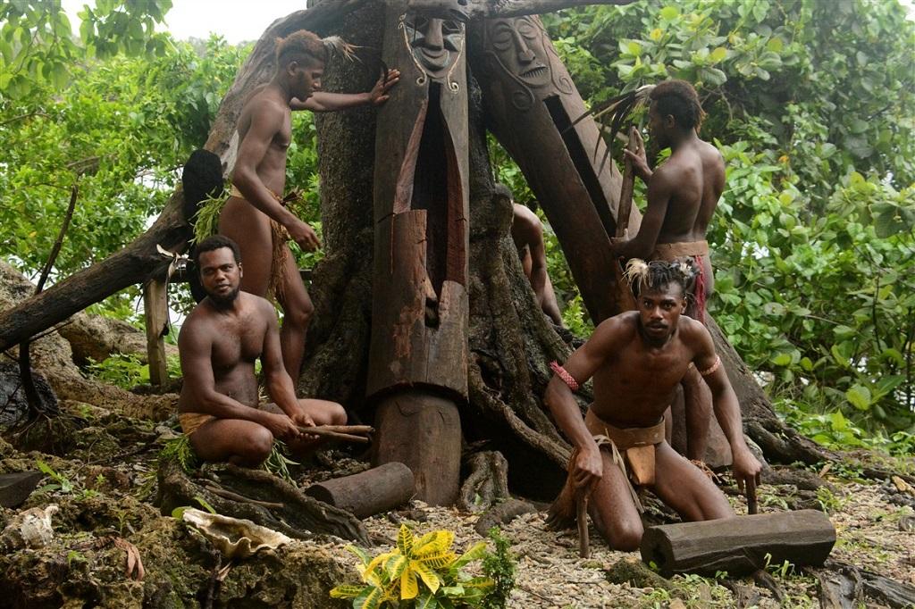 Performance musicale - Small Nambas - Île de Malekula - Vanuatu