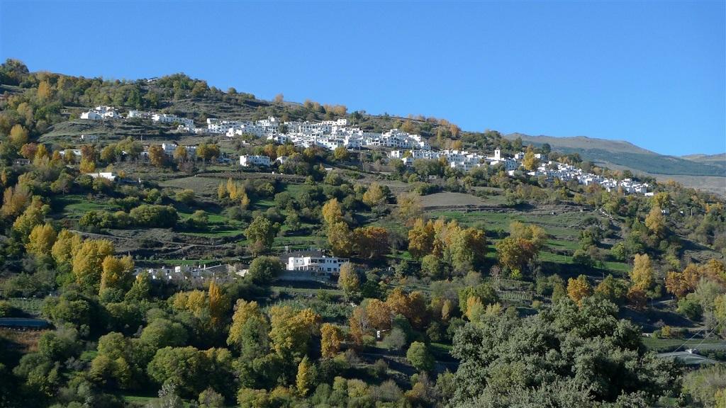 Village blanc de la Sierra Nevada - Andalousie - Espagne