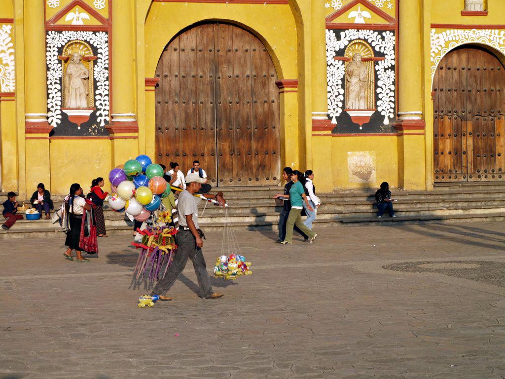 Vendeur de ballons, San Cristobal de Las Casas