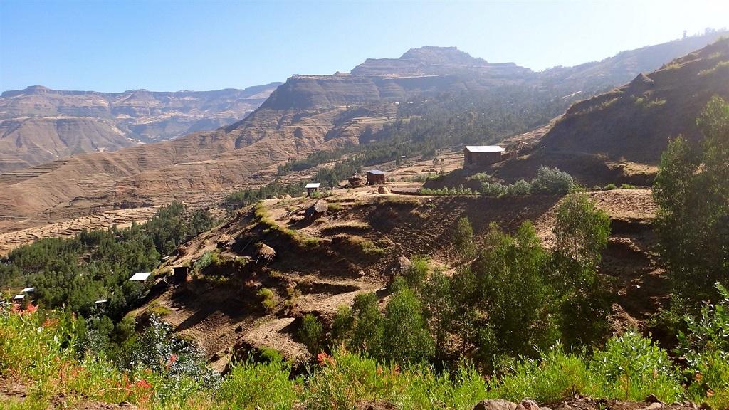 Randonnée vers Lalibela, Région du Tigré, Ethiopie