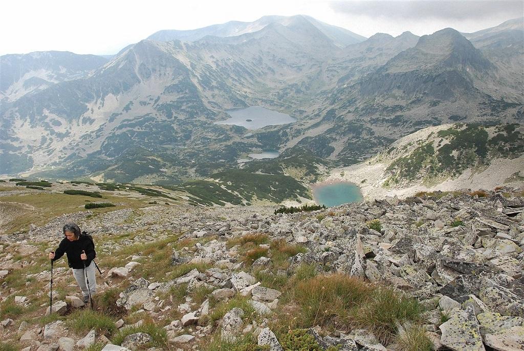 Ascension du mont Polezhan - Parc national du Pirin, Bulgarie