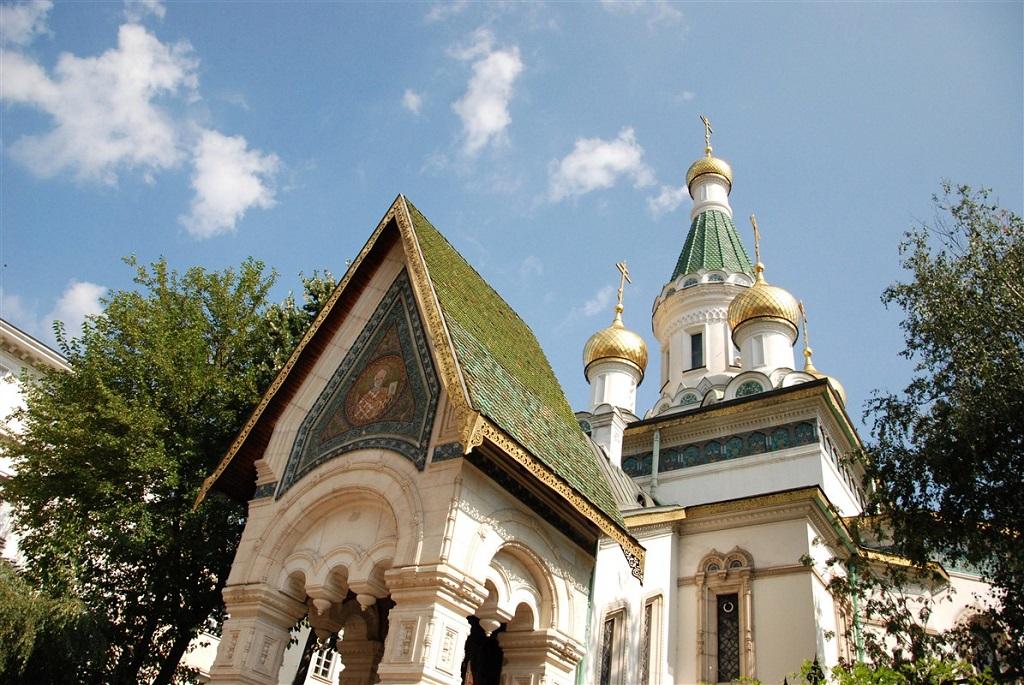 Église orthodoxe russe - Sofia, Bulgarie