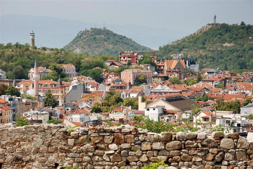 Vue sur Plovdiv, Bulgarie