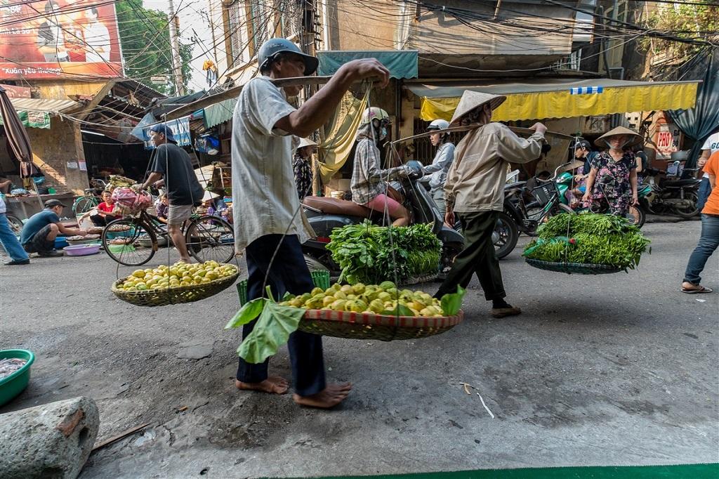 Porteurs - Hanoi - Vietnam