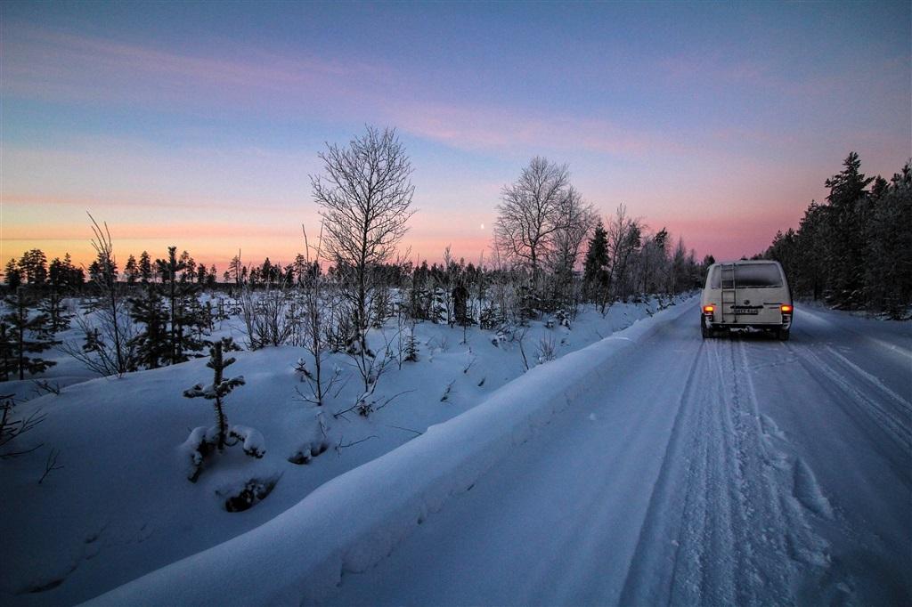 Paysage - Laponie - Finlande
