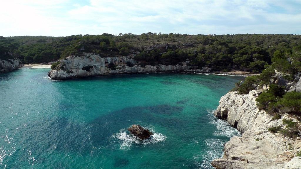 Cala Galdana - Minorque - Baléares, Espagne
