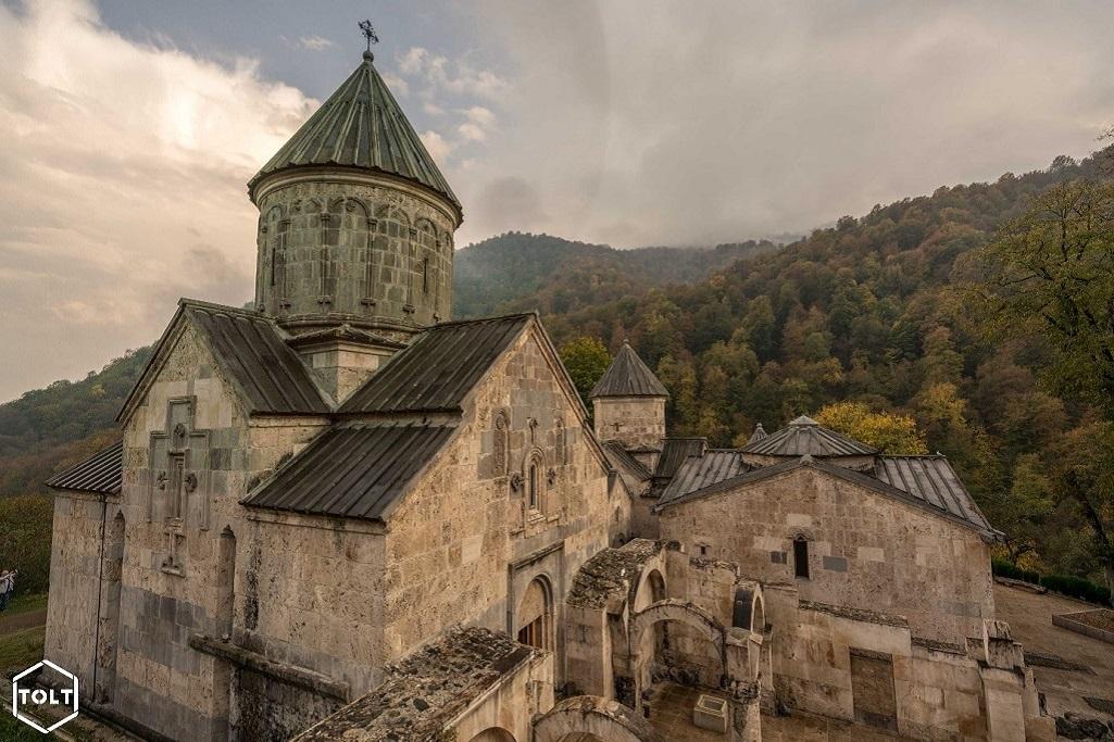 Le magnifique monastère de Haghartsine